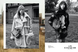 Coach's Fall/Winter 2014 ad campaign shot by Steven Miesel