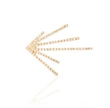 Pave Diamond Burst Earring
