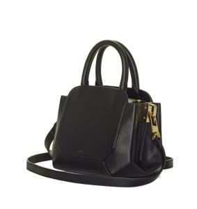 My personal favorite, the Auxiliary Bega Satchel, seen in black