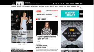 WWD will be refocusing its efforts on its website, wwd.com